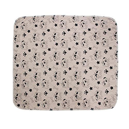 Hondendeken wasbaar waterdicht zuignap voor huisdieren drielaagse waterdichte pvc-luier voor huisdieren urinbestendig matras met herwasbare urinpad, wasbaar in de wasmachine 40×60 ·