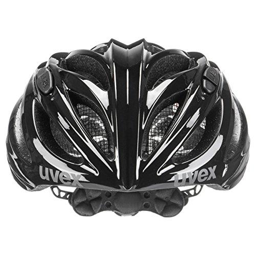 uvex Unisex– Erwachsene, boss race Fahrradhelm, black, 52-56 cm - 2