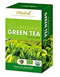 Imozai Organic Green Tea Bags 100 Count Individually Wrapped