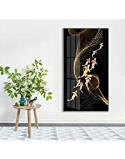 XYFJD Modern Art Wall Schilderijen hedendaagse schilderkunst Mural Abstract Pictures Foto Afdrukken op Canvas, Print Wall Art Schilderen klaar te hangen, 40x80cm (Color : B)