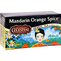 A blend that combines tart and juicy oranges with aromatic spices like cloves and coriander Naturally caffeine free Serve hot or cold Tart mandarin orange flavour with aromatic spices Bring fresh, filtered water to a rolling boil
