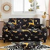 WXQY Fundas de Estilo Bohemio Funda de sofá elástica elástica Funda de sofá de protección para Mascotas Funda de sofá de Esquina en Forma de L Funda de sofá Todo Incluido A1 2 plazas