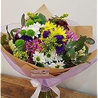 REGALAUNAFLOR-Ramo de flores multicolor-FLORES FRESCAS-ENVIO EN 24 HORAS DE LUNES A SABADO.