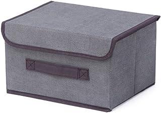 Boîte De Rangement Panier De Rangement De Vêtements En Tissu De Linge Pliable Grande Étagère De Stockage D'articles Divers...