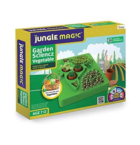 Jungle Magic Garden Scienz Experimental Educational Game for Kids (Vegetables) Green