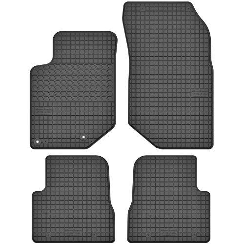 AGCPdirect Gummi Matten Fußmatten Passgenau 4-teilig Set für Opel Corsa F 2019-2021 und Peugeot 2008 2019-2021
