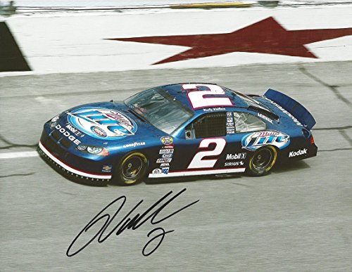 AUTOGRAPHED Rusty Wallace #2 Miller Lite Racing TEXAS MOTOR SPEEDWAY (Team Penske) Nextel Cup Series Signed Collectible Picture NASCAR 9X11 Inch Glossy Photo with COA