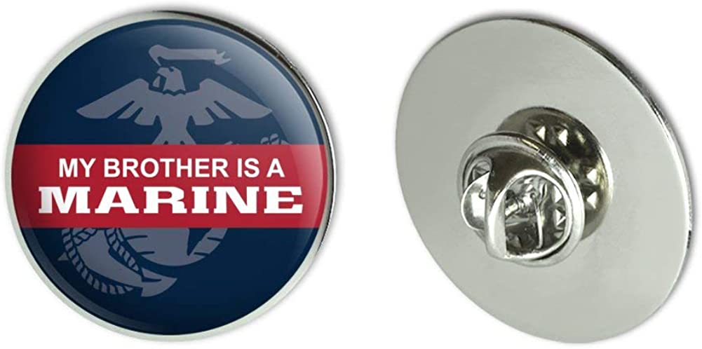 GRAPHICS & MORE My Brother is a Marine USMC Officially Licensed Metal 1.1