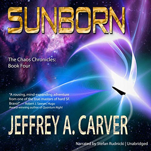 Sunborn Audiobook By Jeffrey A. Carver cover art