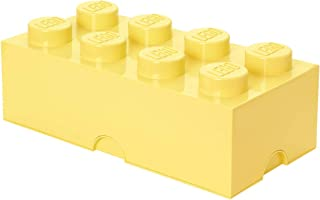 LEGO 40041741 Brique de rangement empilable 8 - Collection design, Plastique, Jaune, 0 cm