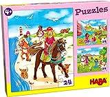 HABA 304221 puzzle 24 pc(s) - Rompecabezas (Boy/Girl, 4 yr(s), Cardboard, 24 pc(s))