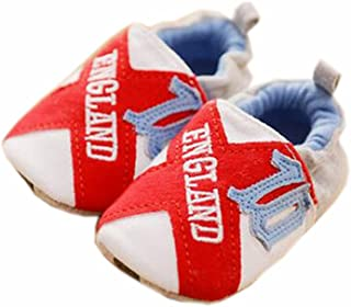 Baby First Walkers Soft Sole Cotton Toddler Shoes England