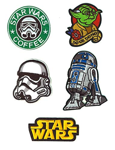 SET PRODUCTS 5 Parches Termoadhesivos Star Wars -