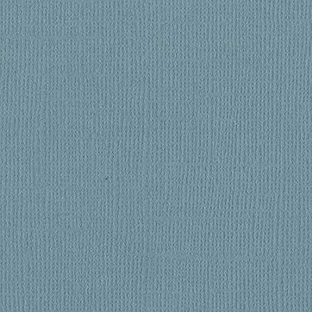 """25 Pack Bazzill Mono Cardstock 12/""""X12/""""-North Sea//Canvas"""