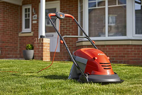 Flymo Hover Vac 260 Electric Hover Lawn Mower, 1400 W, 26 cm Cutting Width, 15 Litre Grass Box