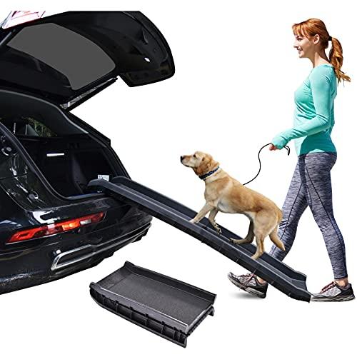 CosHall Rampa Plegable Para Perros Pequeños / Grandes, SUV, Piscina Disponible, Carga...