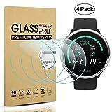 Diruite 4-Pack für Polar Ignite Panzerglas Schutzfolie, HD Glas Bildschirmschutzfolie für Polar Ignite Intelligente Uhr [Anti-Kratzen] [Anti-Öl] [Keine Blasenfrei]