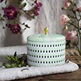 La Jolíe Muse Duftkerze Groß 400g 100% Sojawachs Weißer Tee Kerze in Dose 2 Dochte 80Std Muttertag Geschenk - 2