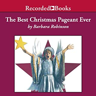 The Best Christmas Pageant Ever audiobook cover art