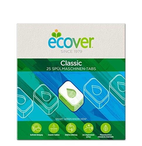 Ecover Ökologische Spülmaschinen-Tabs, 2er Pack (2 x 25 Tabs)