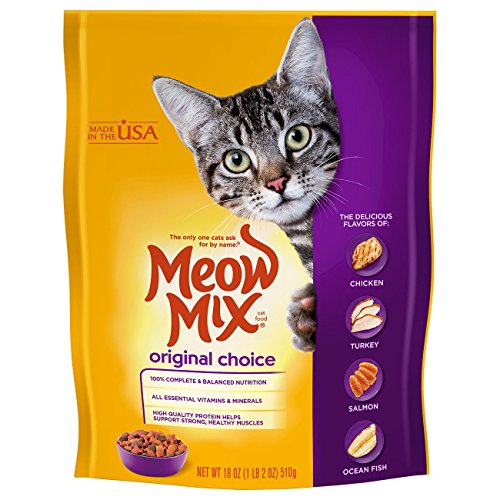Meow Mix Dry Cat Food Original