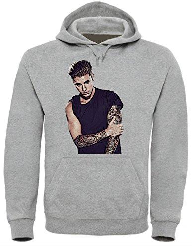 Justin Bieber Funny Mens & Ladies/Herren & Damen Unisex Hooded Pullover (S)