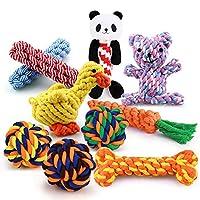 Acuhyf para cachorro、1peça、brinquedodemastigarparacãespequenos、limpezadentária、corda de cachorro、bola debrinquedoanimaisdeestimaçãobrinquedoanimaisdeestimação