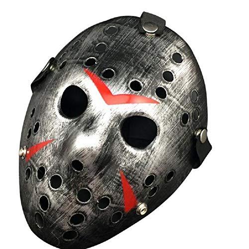 FD2LB1NVL Nuevo Jason vs Viernes 13 Horror Hockey Cosplay Disfraz Halloween Killer Masquerade Mscara Halloween