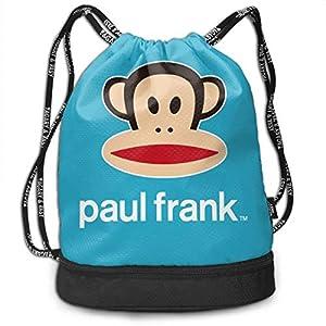 51sxKmVDLGL. SS300  - Mochila con cordón Paul Frank Hübsche Kordelzug Rucksack Tasche Mehrzweck Bundle Sack Pack Tanztasche