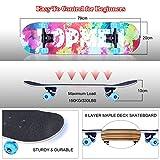 Zoom IMG-2 vikaster completo skateboard per principianti