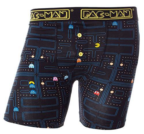 Pac-Man Mens' Spiel Brettspiel über Boxer Unterwäsche (Mittel)