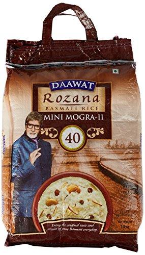 Daawat Rozana Basmati Rice, Mini Mogra 2, 10kg