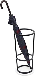 Color : Black LPYMX Super Quality Umbrella Stand Entrance Hallway Decoration Home Modern Metal Umbrella Stand Umbrella Bucket