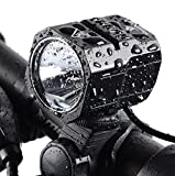 Nestling USB Rechargeable LED Bike Light Set, 1200 Lumen Bicycle Headlight Cree XM-L2