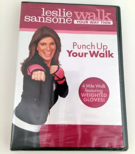 Leslie Sansone, Walk Your Way Thin, Punch Up Your Walk (Workout DVD)