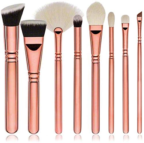 HZS Maquillage Brush Set, Fondation Crayon Sourcils Fard À Joues Correcteur, Maquillage Halloween Outil