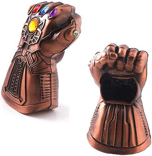 Bierflaschenöffner – Motiv: Thanos' Handschuh –Marvel The Avengers 4 Flaschenöffner, ideales Geschenk für Bars, Partys, Bierliebhaber, tolles Geburtstagsgeschenk für Marvel-Fans.