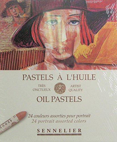 Sennelier Oil Pastel Portrait Set of 24