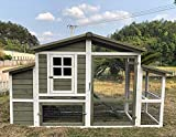 "Zoopplier Hühnerstall Hühnerhaus Chickenhouse Nr. 10""Emshaus"