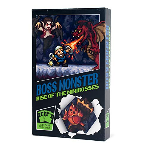 Brotherwise Games BGM017 Boss Monster: Rise of the Minibosses, colores variados , color/modelo surtido