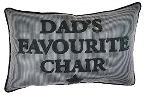 Homestreet Dads Cushion, Gift For Dad, Navy Striped oblong Cushion, reserved for Dad from (DAD)