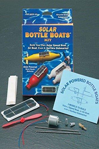 Solar Bottle Boats Kit