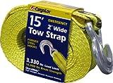 2' x 15' x 10,000 lbs - Tow Strap, Hooks