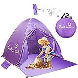 SUNBA YOUTH Beach Tent, Beach Shade, Anti UV Instant Portable Tent Sun Shelter, Pop Up Baby Beach...