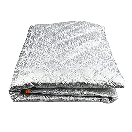 Nihlsen Universal Película de aluminio Invierno Nieve Engranaje Plegable Coche Ropa Media Cubierta Nieve Anticongelante Sunshade Cover