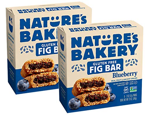 Nature's Bakery Gluten-Free Real Blueberry Fruit, Whole Grain Fig Bar: 2 Pack - 12 ct. (24 oz.)