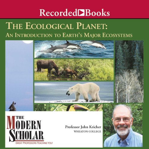 『Ecological Planet - An Introduction to Earth's Major Ecosystems』のカバーアート