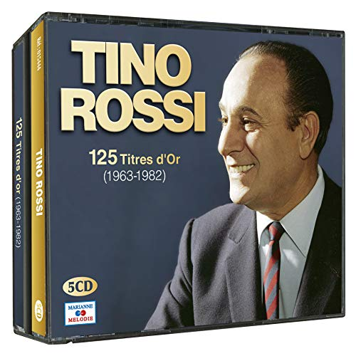 Tino Rossi 125 titres d\'or