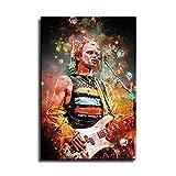 HD Print Sting The Legendary Gitarist Poster für Zimmer