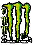 KIT Autocollants COMPATIBILE pour Monster Sponsor Moto Honda Yamaha KTM Cross Casque Enduro (46)